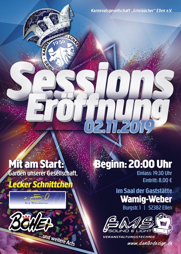 Sessionseröffnung 2019/2020