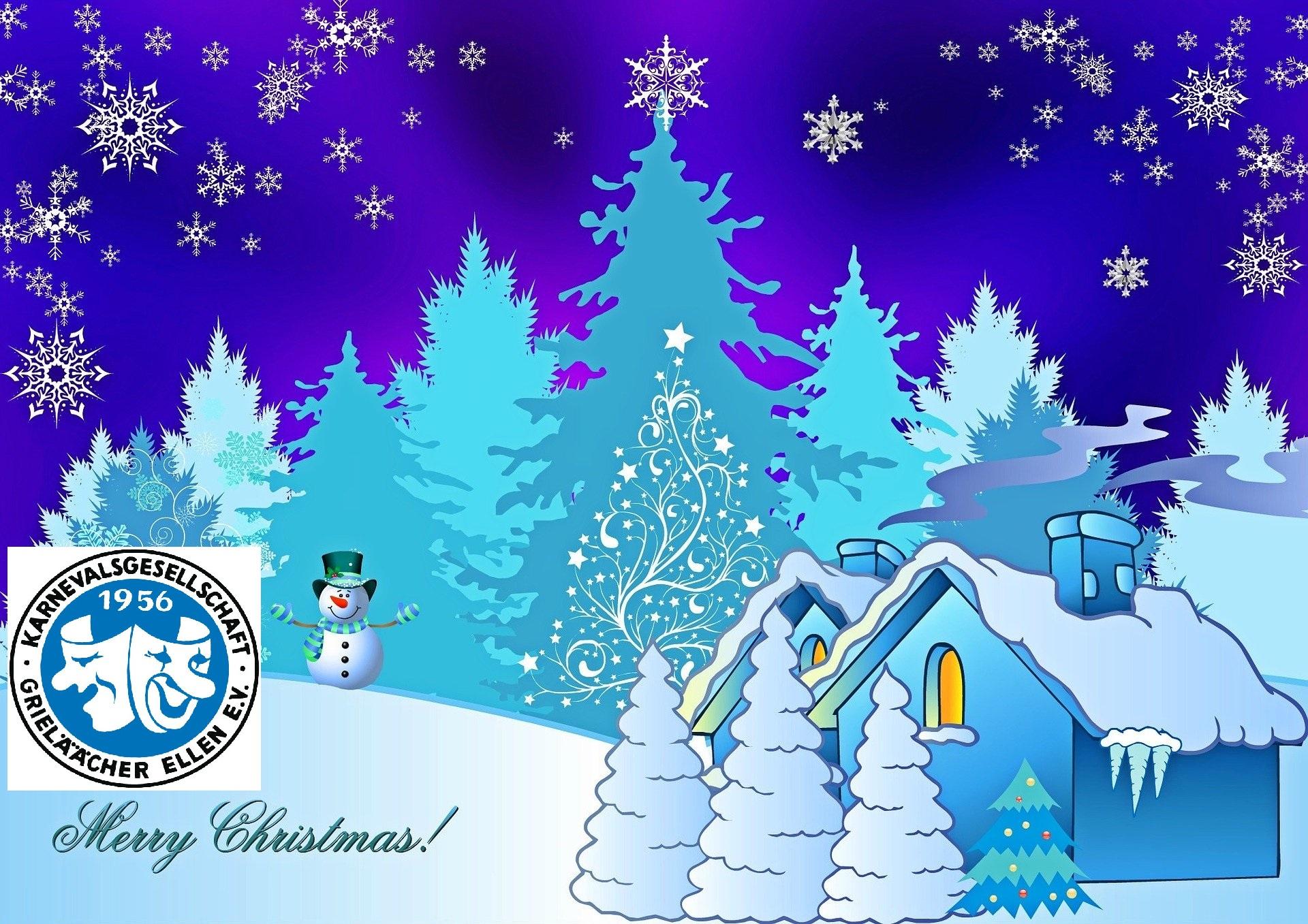 Wir wünschen euch Frohe Weihnachten!
